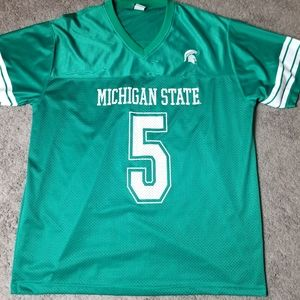 Signal Shirts - Signal XL Michigan State Spartans Jersey Green